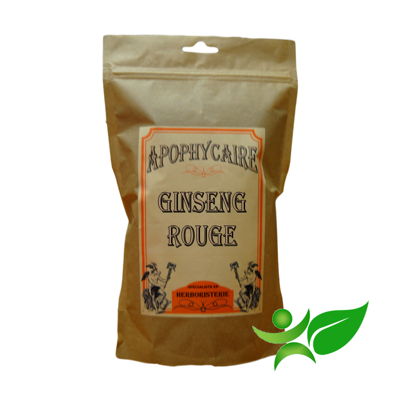 GINSENG ROUGE BiO, Racine poudre (Panax ginseng) - Apophycaire