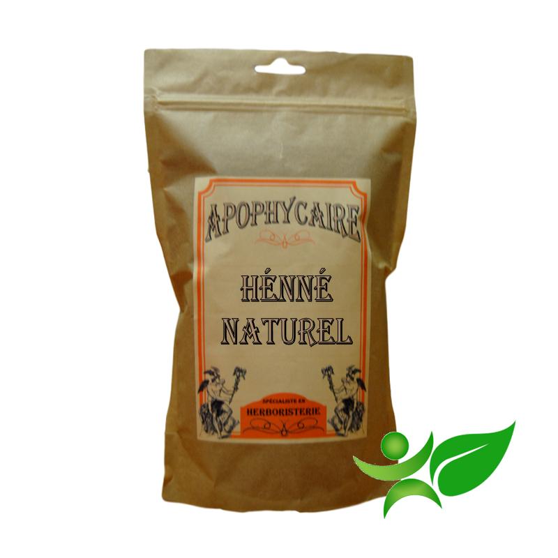 HENNE NATUREL - EGYPTE, Feuille poudre (Lawsonia inermis) - Apophycaire