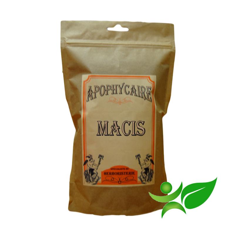 MACIS - arille de la noix muscade, Fruit (Myristica fragans) - Apophycaire