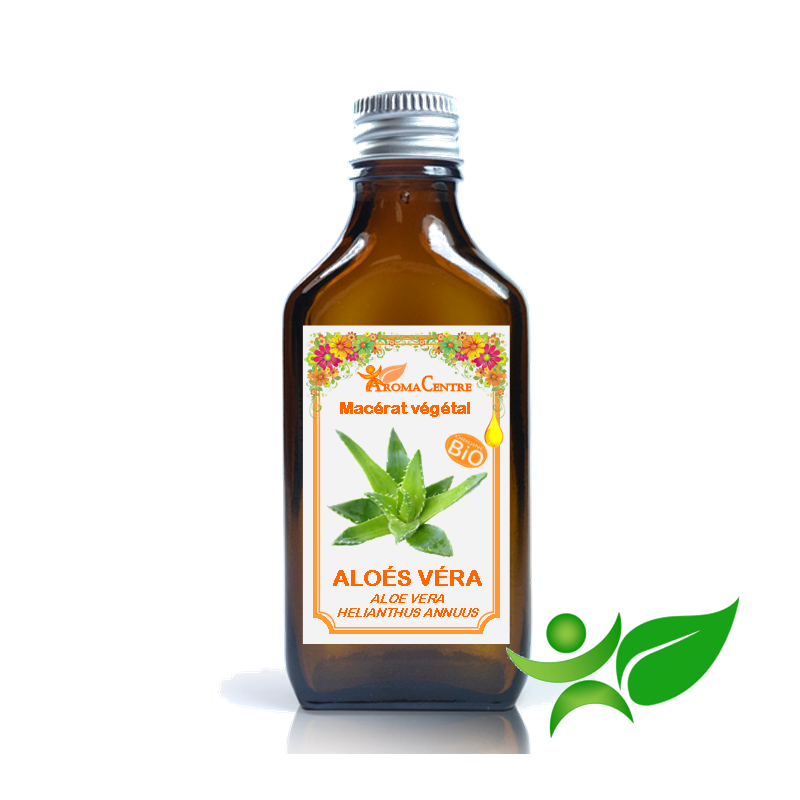Aloés Véra BiO, Macérât huileux (Aloe vera / Helianthus annuus) - Aroma Centre