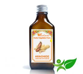 Arachide, Huile végétale pure (Arachis hypogeae) - Aroma Centre