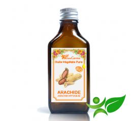 Arachide BiO, Huile végétale pure (Arachis hypogeae) - Aroma Centre