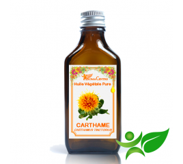 Carthame, Huile végétale pure (Carthamus tinctorius) - Aroma Centre