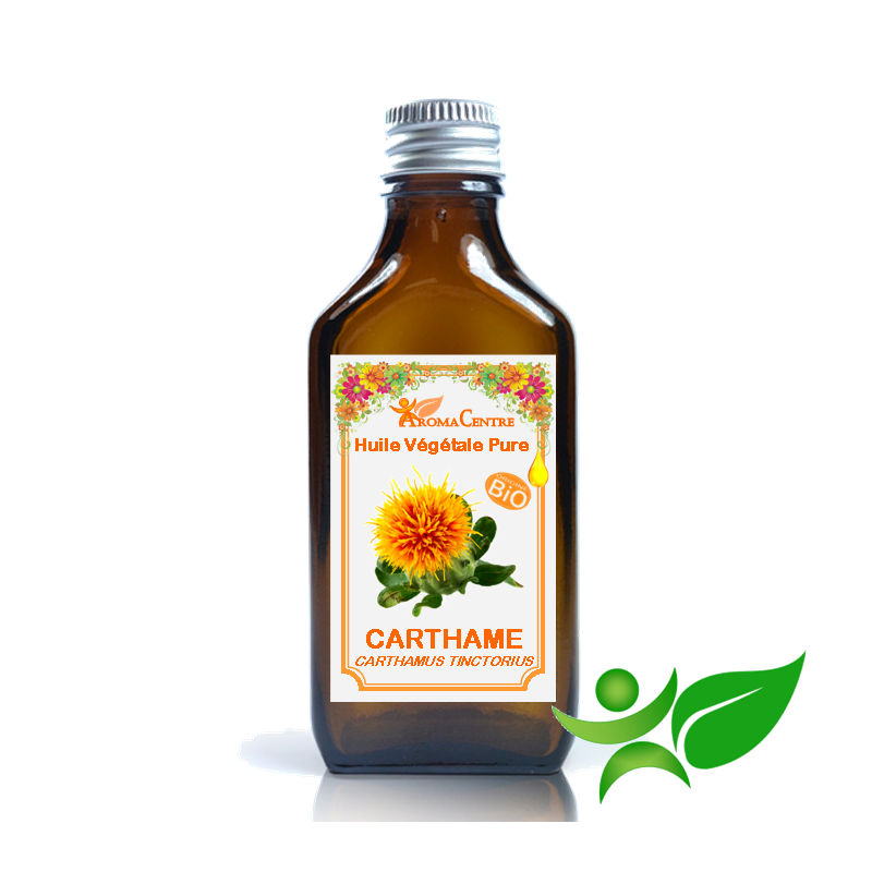 Carthame BiO, Huile végétale pure (Carthamus tinctorius) - Aroma Centre