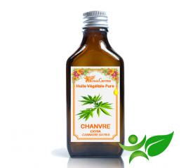 Chanvre, Huile végétale pure (Cannabis sativa) - Aroma Centre