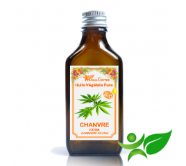 Chanvre BiO, Huile végétale pure (Cannabis sativa) - Aroma Centre