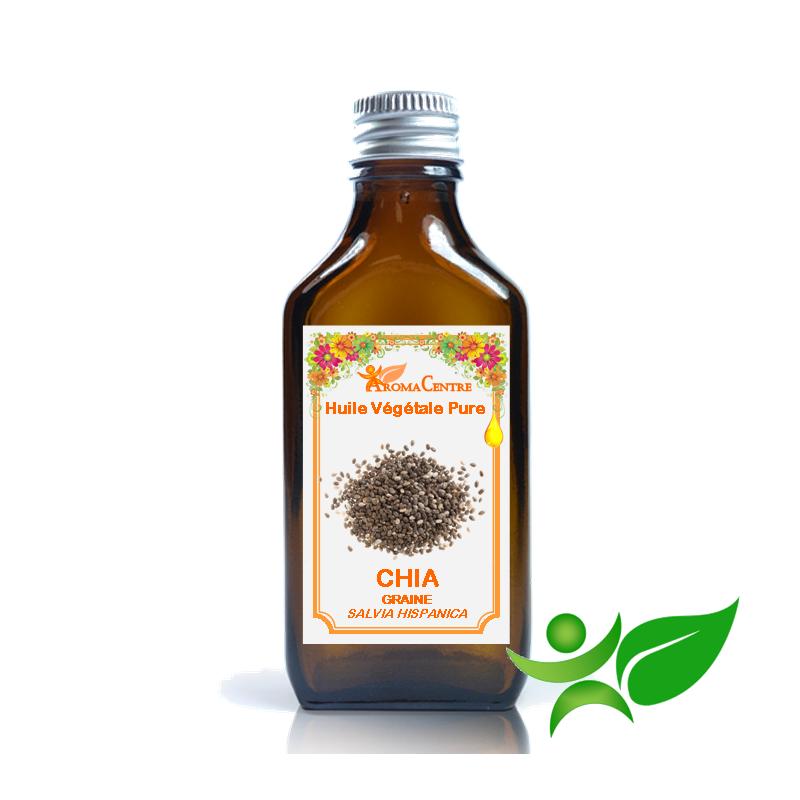 Chia, Huile végétale pure (Salvia hispanica) - Aroma Centre
