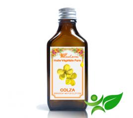 Colza - Canola, Huile végétale pure (Brassica napus oleifera) - Aroma Centre