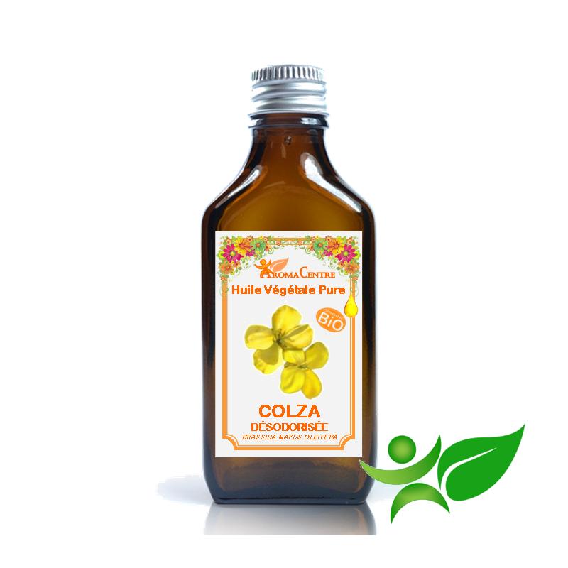 Colza - Canola Désodorisée, Huile végétale pure (Brassica napus oleifera) - Aroma Centre