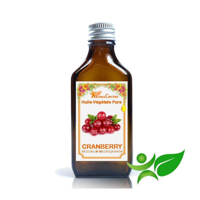 Cranberry, Huile végétale pure (Vaccinium macrocarpon) - Aroma Centre