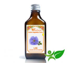 Lin, Huile végétale pure (Linum usitatissimum) - Aroma Centre
