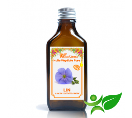 Lin BiO, Huile végétale pure (Linum usitatissimum) - Aroma Centre