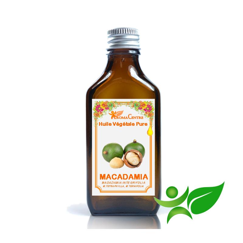 Macadamia, Huile végétale pure (Macadamia integrifolia) - Aroma Centre