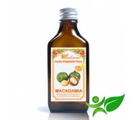 Macadamia BiO, Huile végétale pure (Macadamia integrifolia) - Aroma Centre