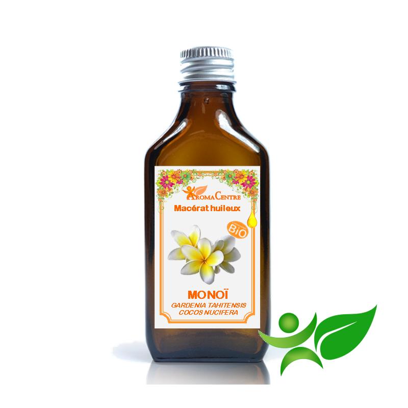 Monoï BiO, Macérât huileux (Gardenia tahitensis / Cocos nucifera) - Aroma Centre
