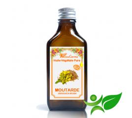 Moutarde BiO, Huile végétale pure (Brassica nigra) - Aroma Centre