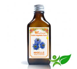 Nigelle - Cumin noir, Huile végétale pure (Nigella sativa) - Aroma Centre