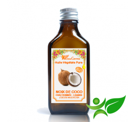 Noix de Coco BiO Fractionnée, Huile végétale pure (Cocos nucifera) - Aroma Centre