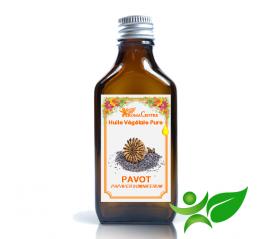 Pavot, Huile végétale pure (Papaver somniferum) - Aroma Centre