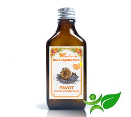 Pavot BiO, Huile végétale pure (Papaver somniferum) - Aroma Centre