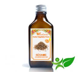 Sésame BiO, Huile végétale pure (Sesamum indicum) - Aroma Centre