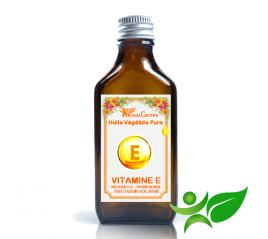 Vitamine E Naturelle, Huile végétale pure (Tocopherol - Tricticum vulgare) - Aroma Centre