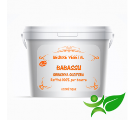 Babassu BiO - raffiné, beurre végétal (Orbignya Oleifera) - Aroma Centre