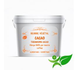 Cacao BiO - raffiné, beurre végétal (Theobroma cacao) - Aroma Centre