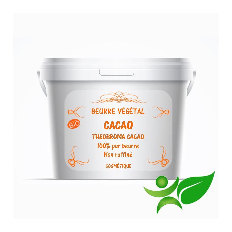 Cacao BiO - Non raffiné, beurre végétal (Theobroma cacao) - Aroma Centre