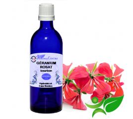 Géranium Rosat, Hydrolat (Pelargonium roseum) - Aroma Centre
