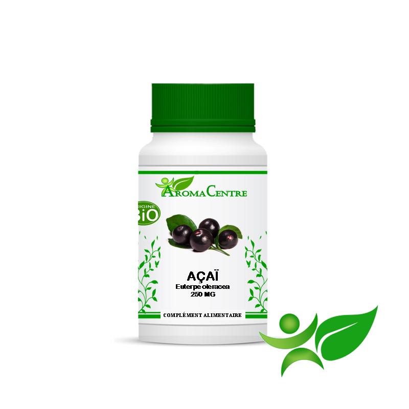 Açaï BiO Fruit, gélule (Euterpe Oleracea) 250mg - Aroma Centre