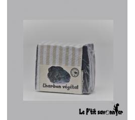 Charbon végétal, savon Mère nature Saponifié à Froid - SAF - Le P'tit Savonnier