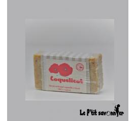 Coquelicot, savon Mère nature Saponifié à Froid - SAF - Le P'tit Savonnier
