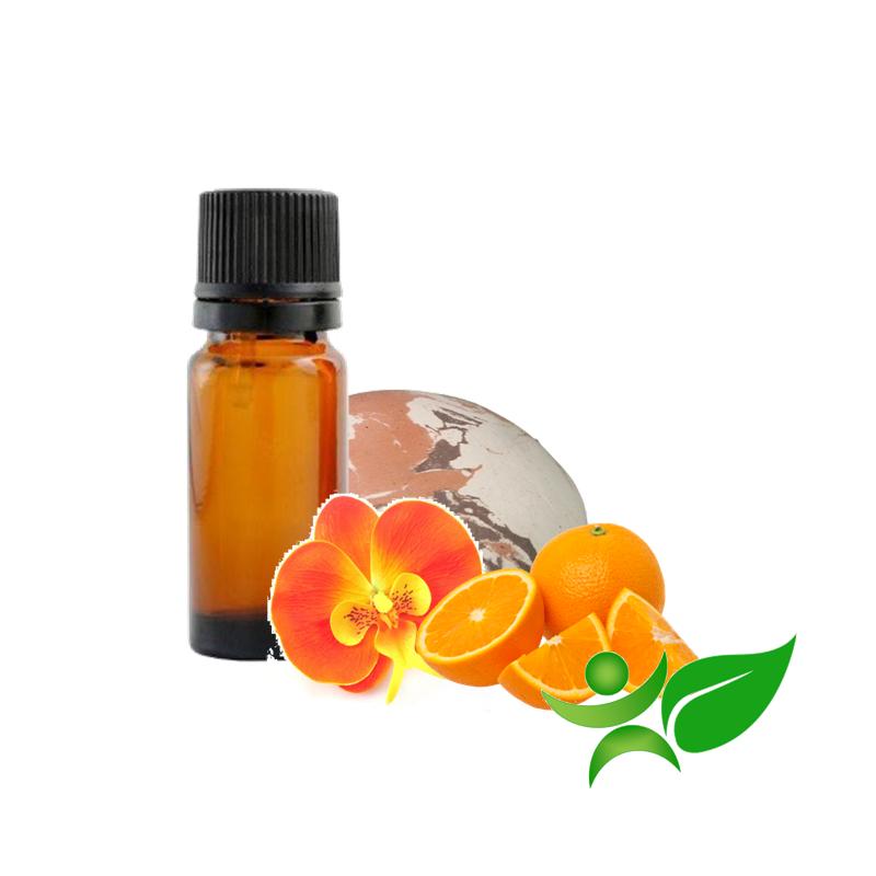 Orange orchidée, huile parfumée pour Galet senteur argile Chamotte
