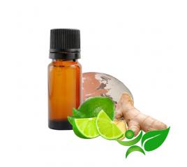 Gingembre citron vert, huile parfumée pour Galet senteur argile Chamotte