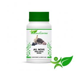 Ail noir, gélule (Allium sativum) 300mg - Aroma Centre