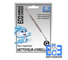Nettoyeur d'oreilles Inox Grand modèle - Easy Clean Ear