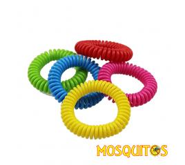 Bracelet spiralé conter les moustique - Mosquitos