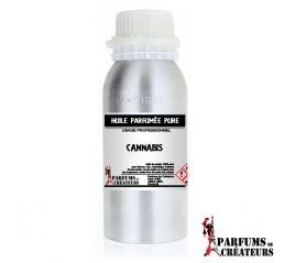 Cannabis - Huile parfumée pure PRO - Parfums de Créateurs