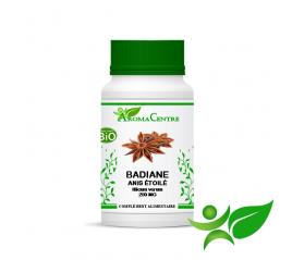Badiane BiO - Fruit, gélule (Illicium verum) 250mg - Aroma Centre