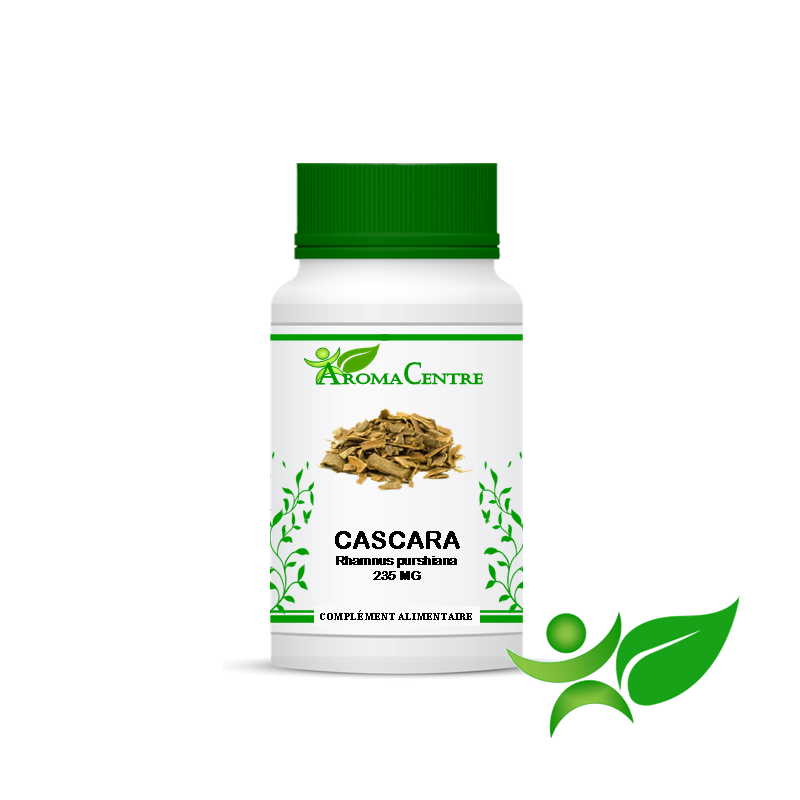Cascara - Ecorce, gélule (Rhamnus purshiana) 235mg - Aroma Centre