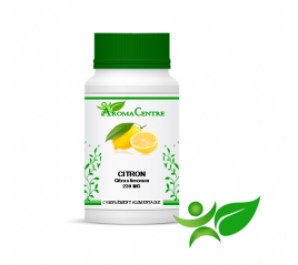 Citron - Ecorce, gélule (Citrus limonum) 230mg - Aroma Centre