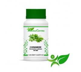 Coriandre - Fruit, gélule (Coriandrum sativum) 250mg - Aroma Centre