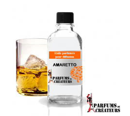Amaretto, Huile parfumée spéciale pour diffusion 10ml - Parfums de Créateurs