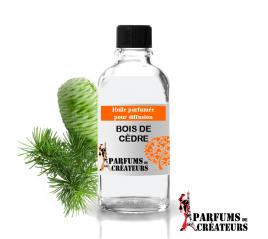 Bois de cèdre, Huile parfumée spéciale pour diffusion 10ml - Parfums de Créateurs