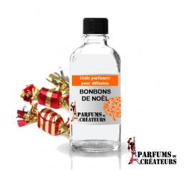 Bonbon de Noël, Huile parfumée spéciale pour diffusion 10ml - Parfums de Créateurs