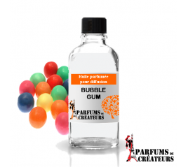 Bubble gum, Huile parfumée spéciale pour diffusion 10ml - Parfums de Créateurs