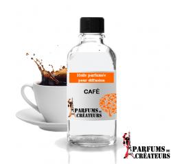 Café, Huile parfumée spéciale pour diffusion 10ml - Parfums de Créateurs