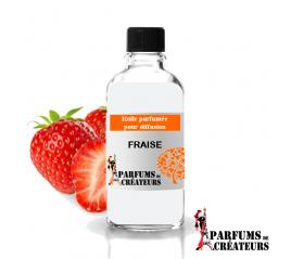 Fraise, Huile parfumée spéciale pour diffusion 10ml - Parfums de Créateurs