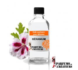 Géranium, Huile parfumée spéciale pour diffusion 10ml - Parfums de Créateurs